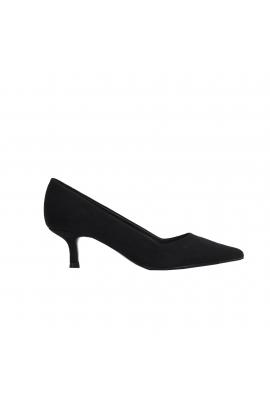 Pantofi cu toc mediu negri