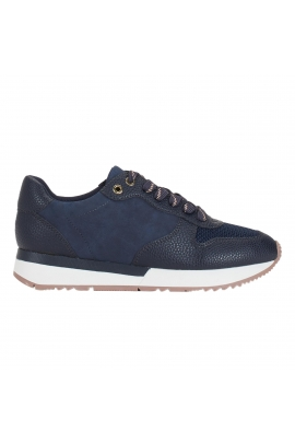 Sneakers navy nude