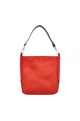 Sac VELOUR 1 Brick Red M