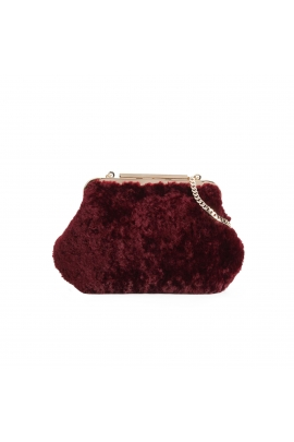 Crossbody Bag CURLS Burgundy M