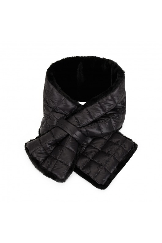 Fur Stoles Strong Winter Black M