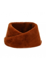 Fur Stoles Strong Winter Caramel S