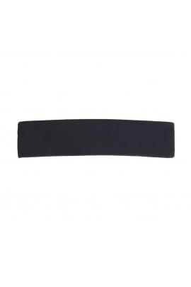 French Clip CRYSTAL & CAVIAR Black U