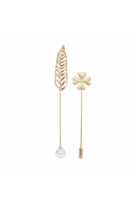 Set of Pins FASHION SUPPLEMENTS Gold U