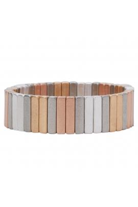 BRATARA ARM METALLIC SHADES Metallic Multicolor U
