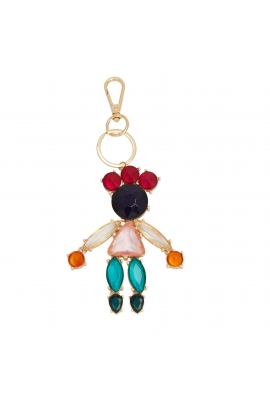 Key Chain FASHION SUPPLEMENTS Bright Multicolor U