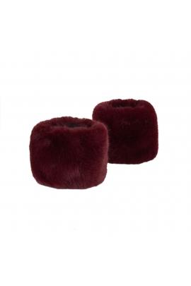 Cuffs Lavanda Frost Burgundy U