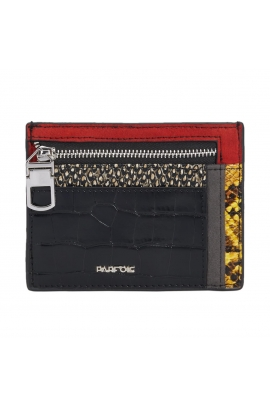 Card Holder CAROL 2 Black M