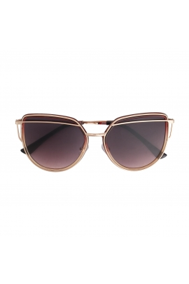 Ochelari Cat Eye Light Gold