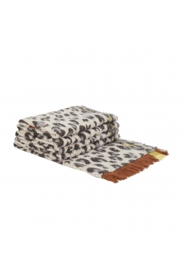Blanket Scarves Monochromat Winter Neutral Multicolor L
