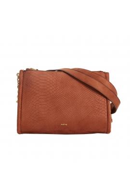 Crossbody Bag CAROL 1 Dark Brown M