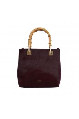 Shopper Bag CAROL 1 Burgundy S