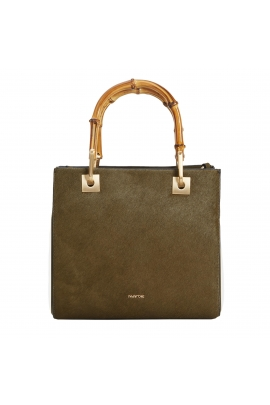 Shopper Bag CAROL 1 Khaki S
