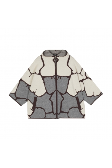 Coat Giraffe Grey U