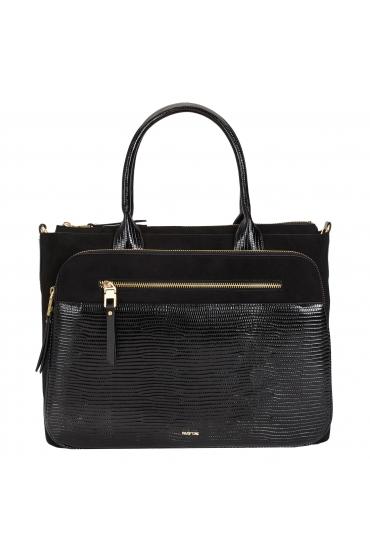 Briefcase CAROL 3 Black M