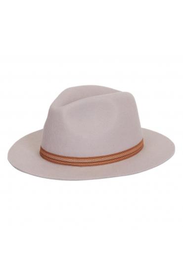 Fedora Hat Light Grey U