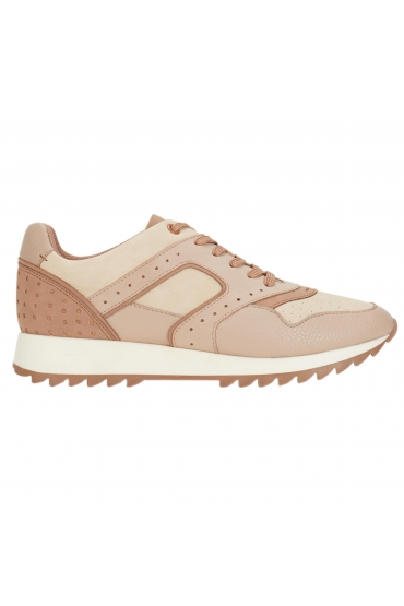 Running Shoes Perforated Nude