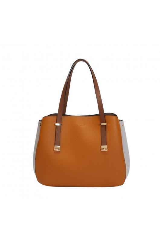 Shopper Bag KAREN Mustard L