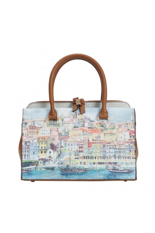 Tote Bag OPORTO Blue M