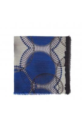 ESARFA CU PRINT Female Winter Blue M