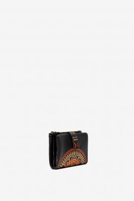PORTOFEL Small coin purse African mandala
