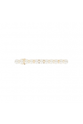 French Clip WINTER FLOWERS Pearl U