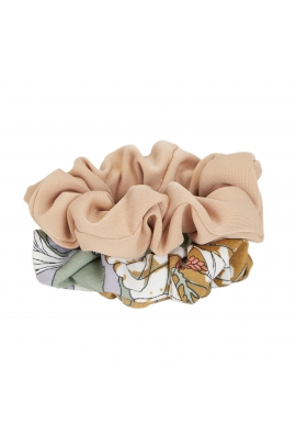 Hair Elastics WINTER FLOWERS Pastel Multicolor U