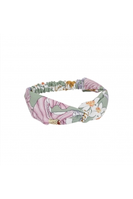 Headband WINTER FLOWERS Pastel Multicolor U