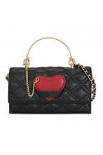 Crossbody Bag NM HEARTS Black M