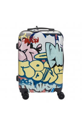 Trolley Graffiti Travel Black S