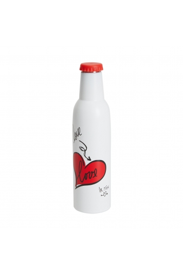 Bottle Valentines Day White M