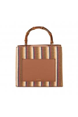 Hand Bag DAISY Beige M