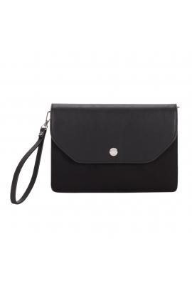 Envelope Bag button Black M