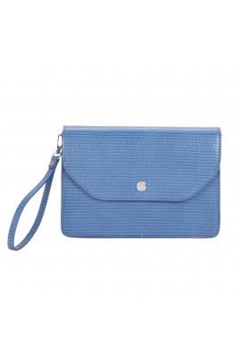 Envelope Bag button Blue M