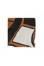 Printed Scarf Lilopa Brown M