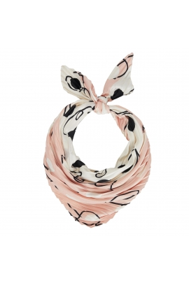 Square Scarf Lilopa Pastel Pink S
