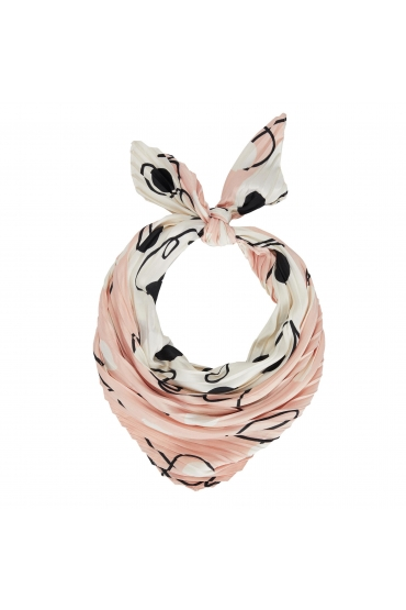 Square Scarf Lilopa Pastel Pink S