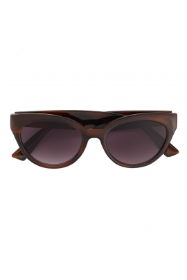 Cat Eye Sunglasses GENERAL SUNGLASSES Brown U
