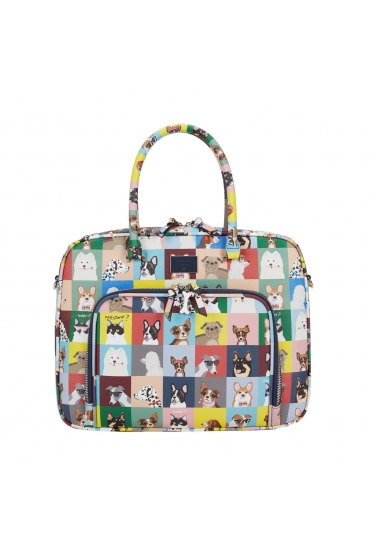 Briefcase PIPPA&DOGS Navy S