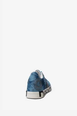 SNEAKERS EXOTIC DENIM