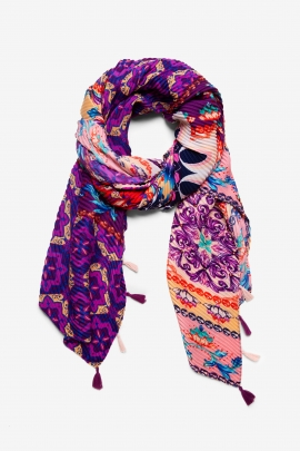 Indian Inspiration Scarf - Agra | Desigual