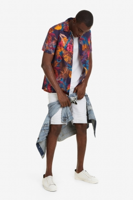 Short-Sleeved Hawaiian Shirt - Kles | Desigual