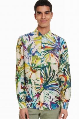 Psychedelic Tropical Shirt - Arnau | Desigual