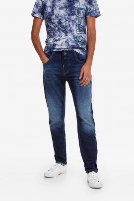 Faded stretch trousers - Blas | Desigual