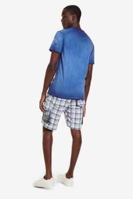 Blue Bolimania T-shirt - Eckard | Desigual
