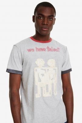 Robots and Lettering T-shirt - Wissen | Desigual