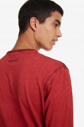 Red T-shirt - Emilio |  Desigual
