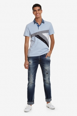 Activewear Short-Sleeved Polo - Masali | Desigual