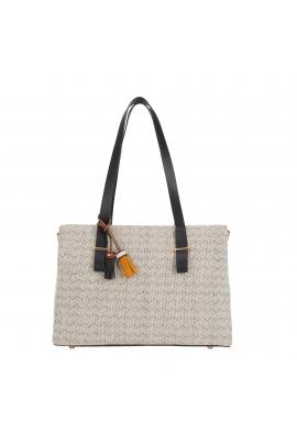 Shopper Bag ELISA Black L