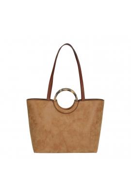 Shopper Bag CARMEN 1 Camel M
